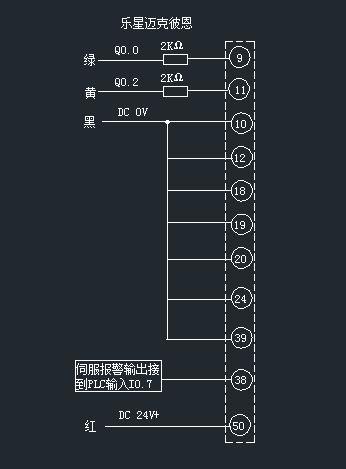 迈克xd381x4信号蝶阀的接线图