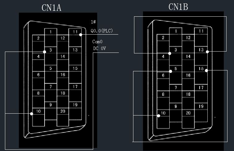 750w常用伺服与西门子plc s7-200可编程控制器接线说明如何接线